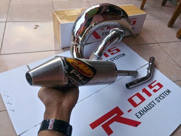 harga Knalpot fmf f4.1 motocross udang trail ninja 2 tak rx king suzuki ts Tokopedia.com