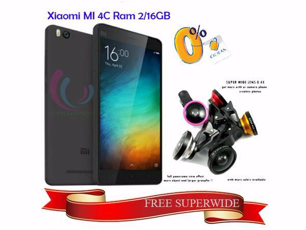 Jual Promo Xiaomi Mi 4c Hitam Ram 2gb 16 Gb Internal Snapdragon 808 Garan Jakarta Barat Xiaomi Indonesia Tbk Tokopedia