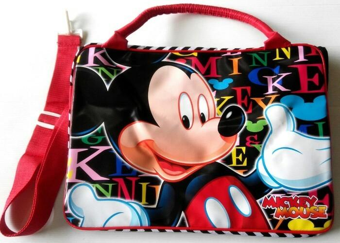 Tas travel / tas renang / koper anak - karakter mickey mouse