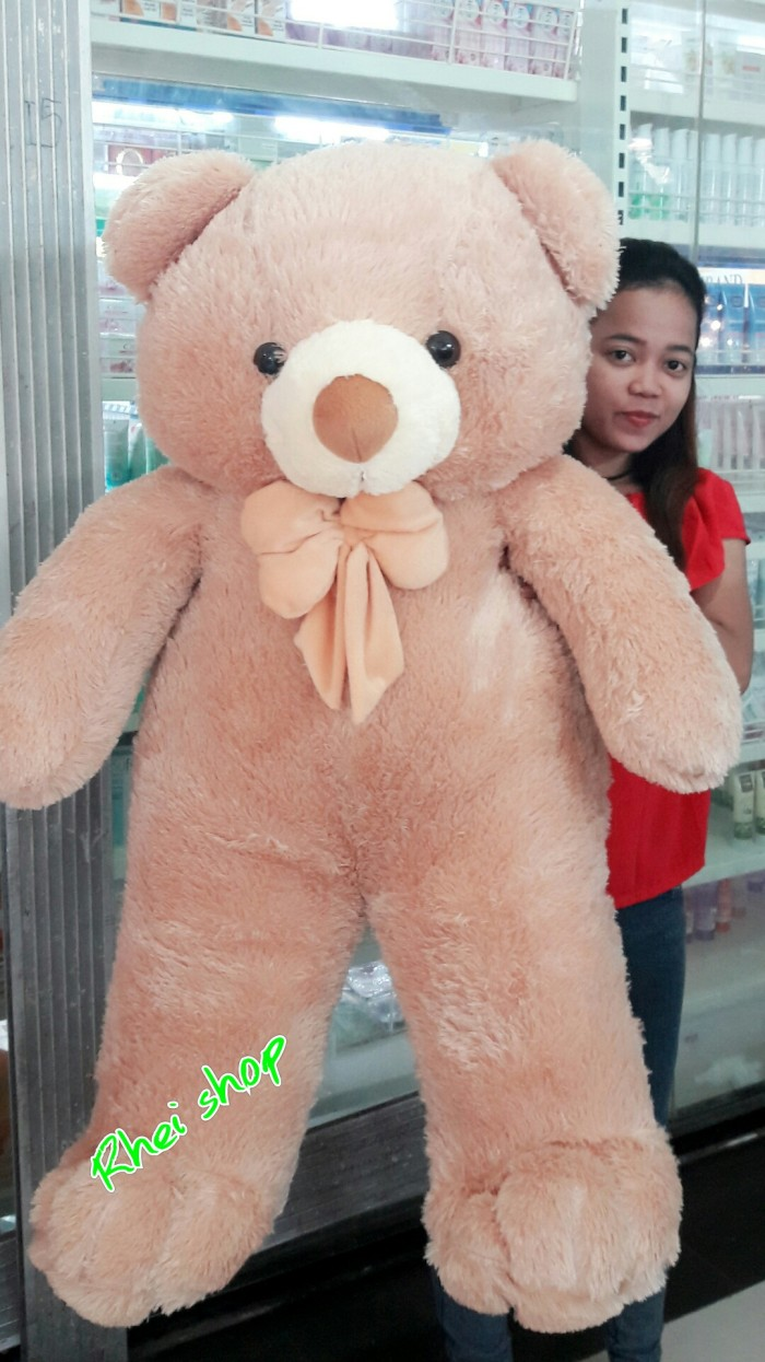 Boneka teddy bear super jumbo coklat harga Boneka teddy bear super jumbo  coklat Tokopedia.com 1b5cd5bdf1