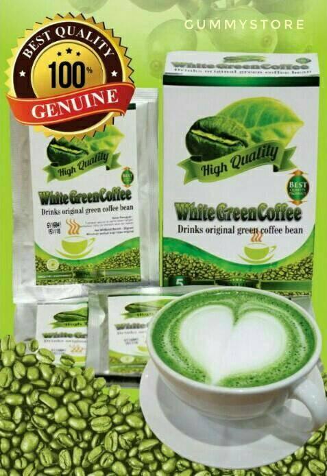 White Green Coffee | Kopi Hijau Griya Annur