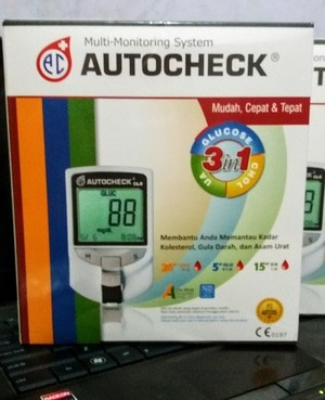 AUTOCHECK CGU MULTI MONITORING SYSTEM 3 IN 1