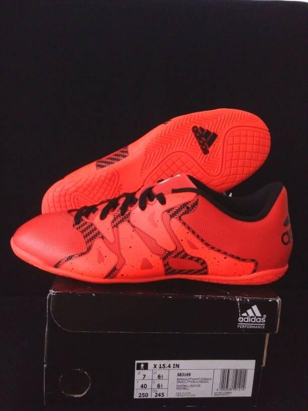 Jual Sepatu Futsal Adidas X 15.4 Art S83169 - Konami Sport  d5cd146c9c