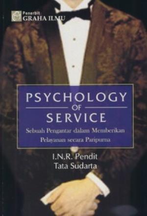 harga Psychology of service - i.n.r. pendit Tokopedia.com