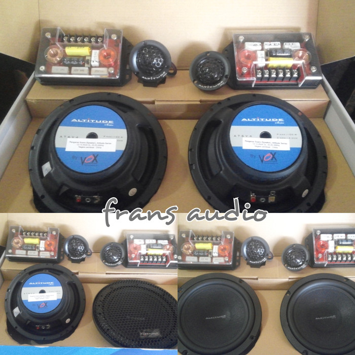 harga Speaker vox altitude at6 v4 / vox at6v4 / speker vox / 2way Tokopedia.com