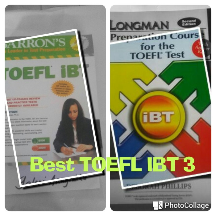 harga Barron toefl ibt & longman preparation course for toefl test: ibt Tokopedia.com