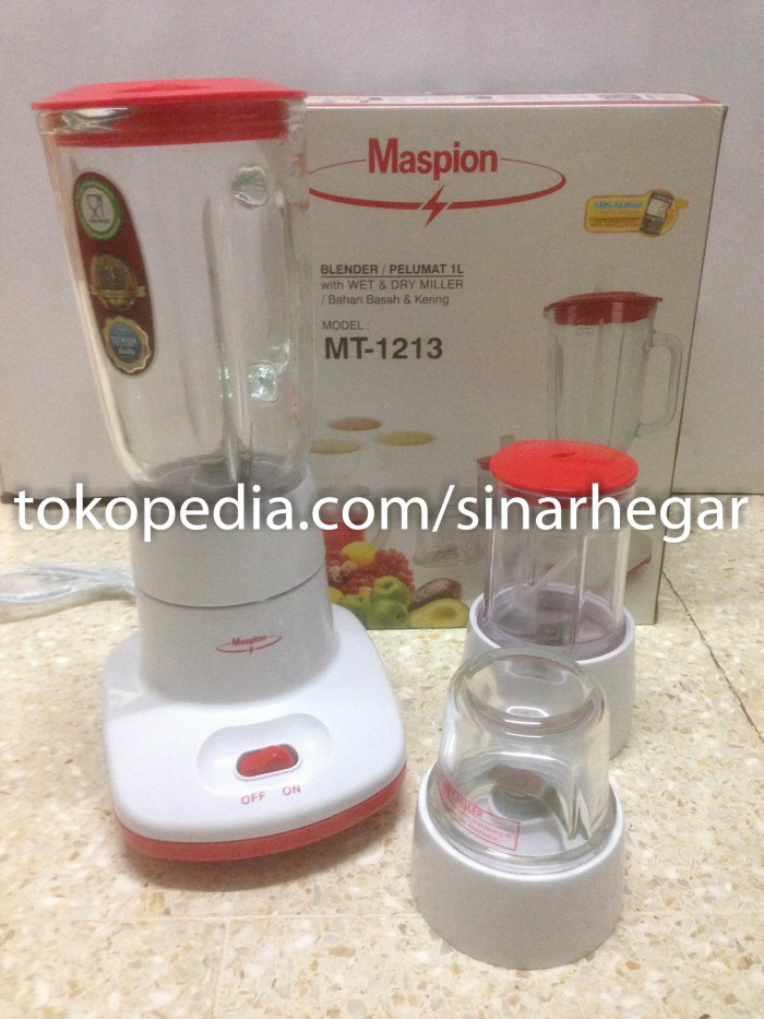 harga Blender maspion 3 in 1 glass/kaca Tokopedia.com
