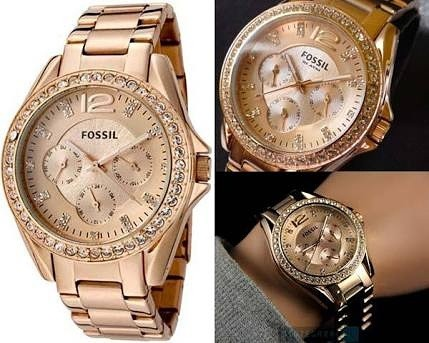 harga Jam tangan fossil wanita es2811 Tokopedia.com