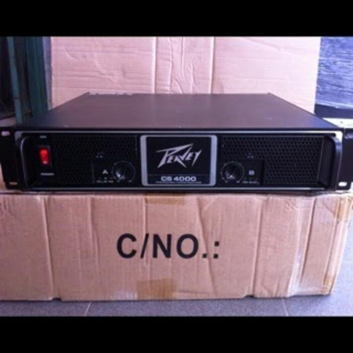 harga Power amplifier peavey cs 4000 Tokopedia.com