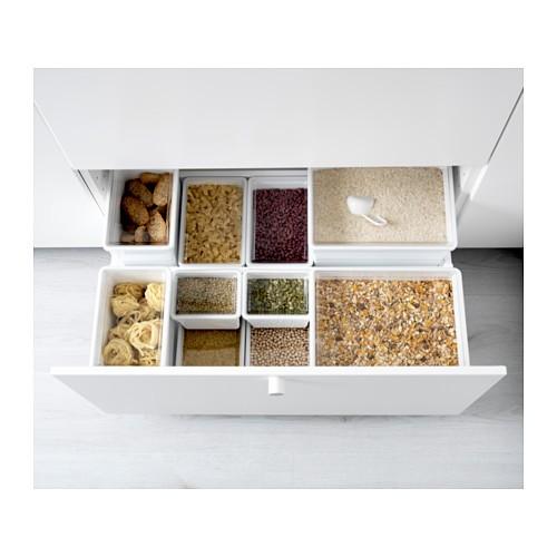 Ikea Tilla Toples Makanan Kering Perlengkapan Dapur Kedap Udara
