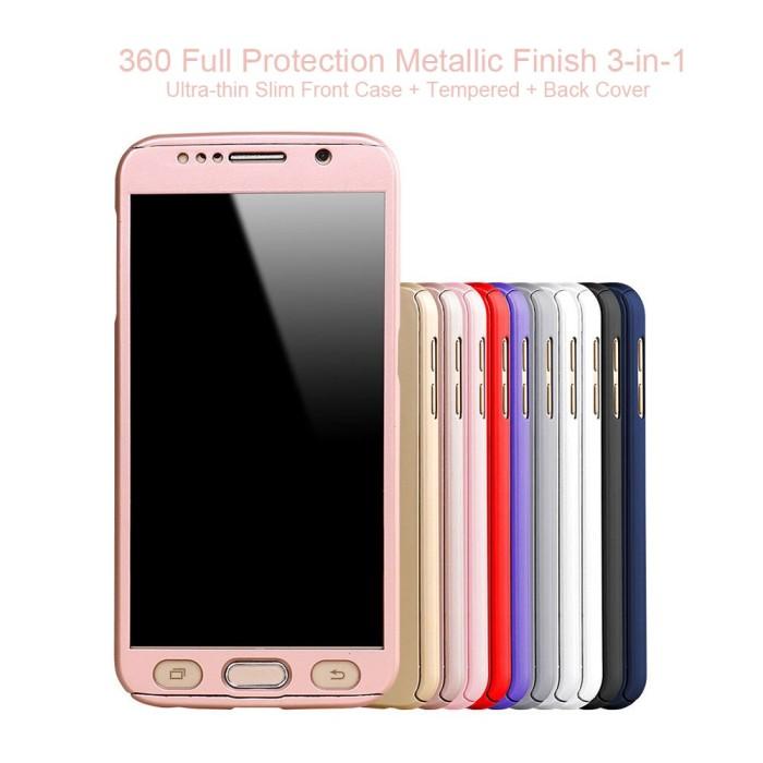 buy popular 4079b 4af26 Jual Casing Hp Cover Samsung Galaxy A5 2016 360 Case Free Tempered Glass -  Kota Bekasi - EtalaseOnline | Tokopedia