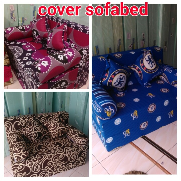 Cover sofabed uk 200x120x20 cm