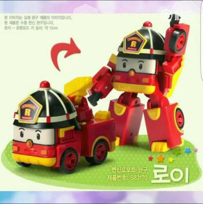 Mainan Anak Mobil ROBOCAR POLI Cocok Buat Kado