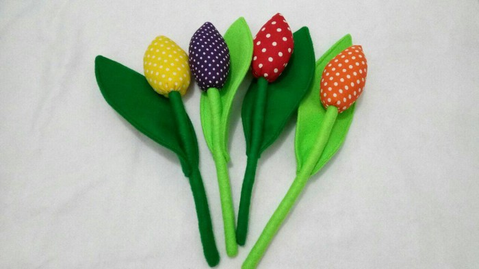 Gambar Bunga Tulip Dari Kantong Plastik Kumpulan Gambar Bunga