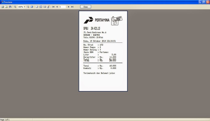 Jual Software Struk BBM / SPBU v2 15 - 2017 Terbaru - DKI Jakarta -  MarketSoftware | Tokopedia