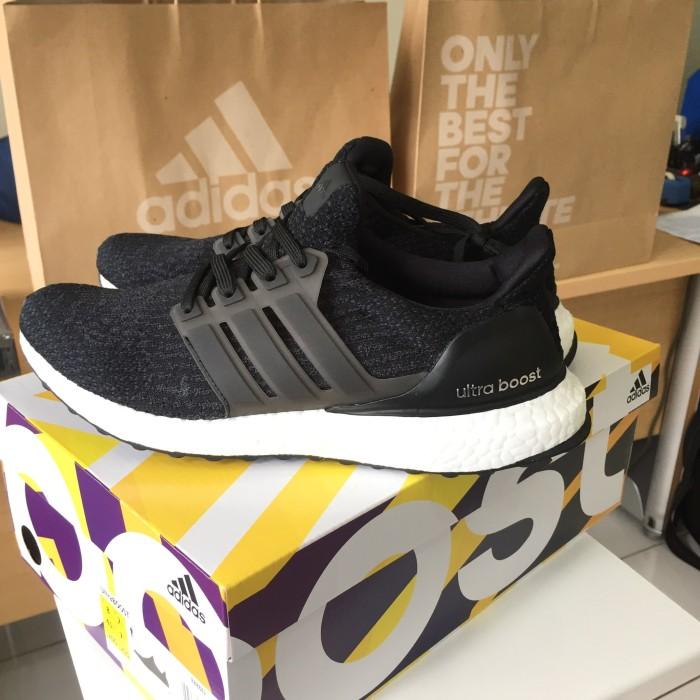 7b9789b32 ... new zealand adidas ultra boost 3.0 core black authentic 5d9b2 72d6e