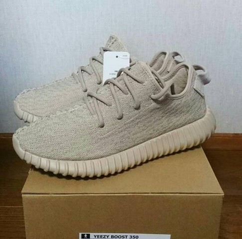 b1e925658417 Jual Sepatu ADIDAS Yeezy Boost 350 Oxford Tan Premium Quality - Min ...