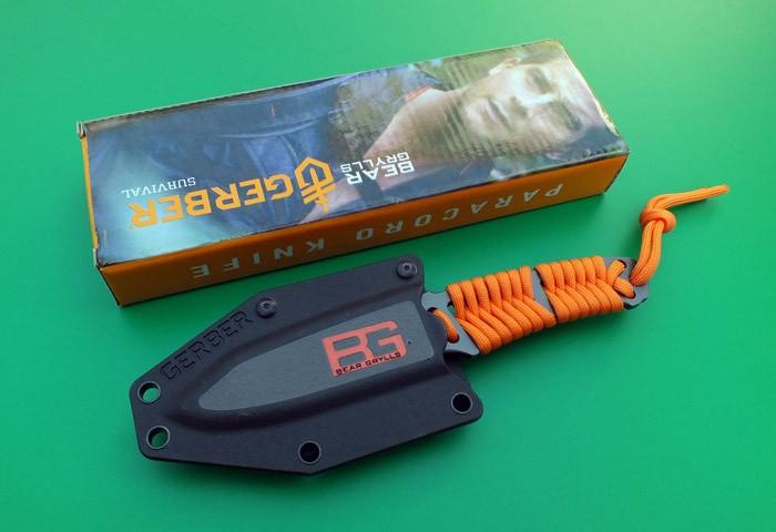 ÐаÑÑинки по запÑоÑÑ gerber bear grylls paracord fixed blade knife