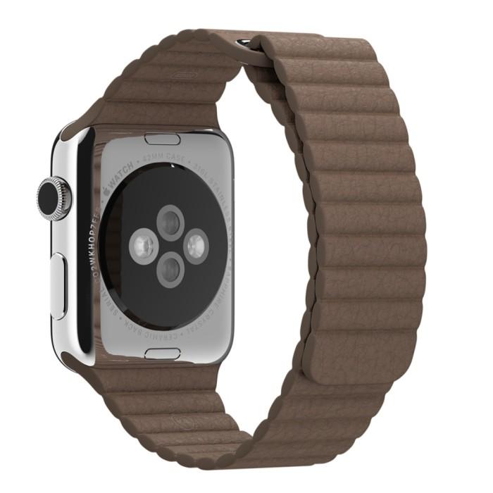 harga Loop strap leather smartwatch apple watch 38 42mm wristband sport Tokopedia.com