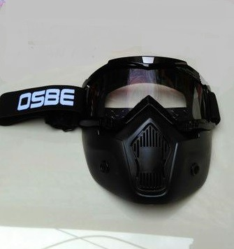 Gogglemask kacamata masker helm, snail beon shark osbe antman bening