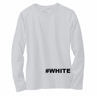 Jual Kaos Baju Polos Tangan Panjang Pria Wanita Cewe Cowo Putih Kota Bandung Yaris Olshop Tokopedia
