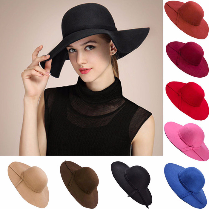 ... harga Topi lebar floopy hat topi pantai anak   dewasa banyak warna murah  Tokopedia.com 664c084463