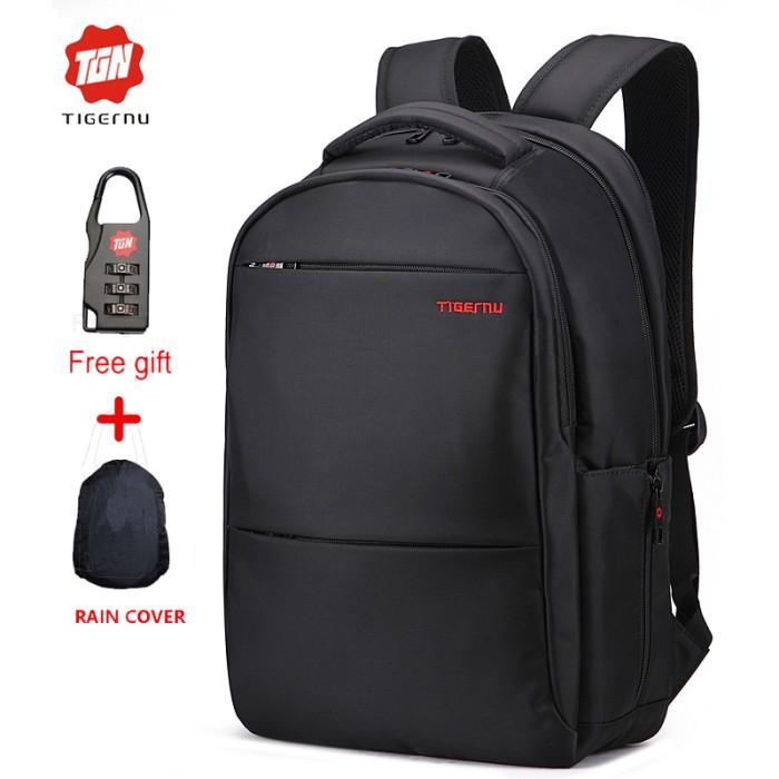 b503a94e2365 Tigernu Tas Backpack Laptop Waterproof Anti Air Anti Maling T-B3032A .