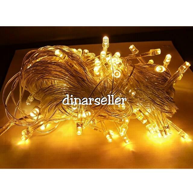 Jual Lampu Hias Led Twinkle Dekorasi Tumblr Lamp Natal Warna Kuning