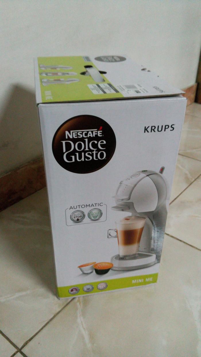 Nescafe Dolce Gusto Mini Me KP1201 - Mesin Pembuat Kopi - Putih