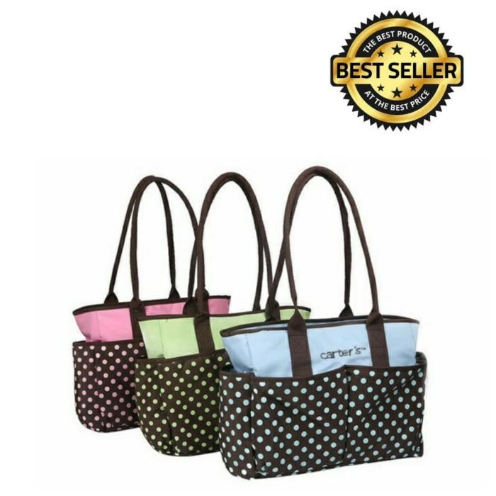 harga Carter's diaper bag polka Tokopedia.com