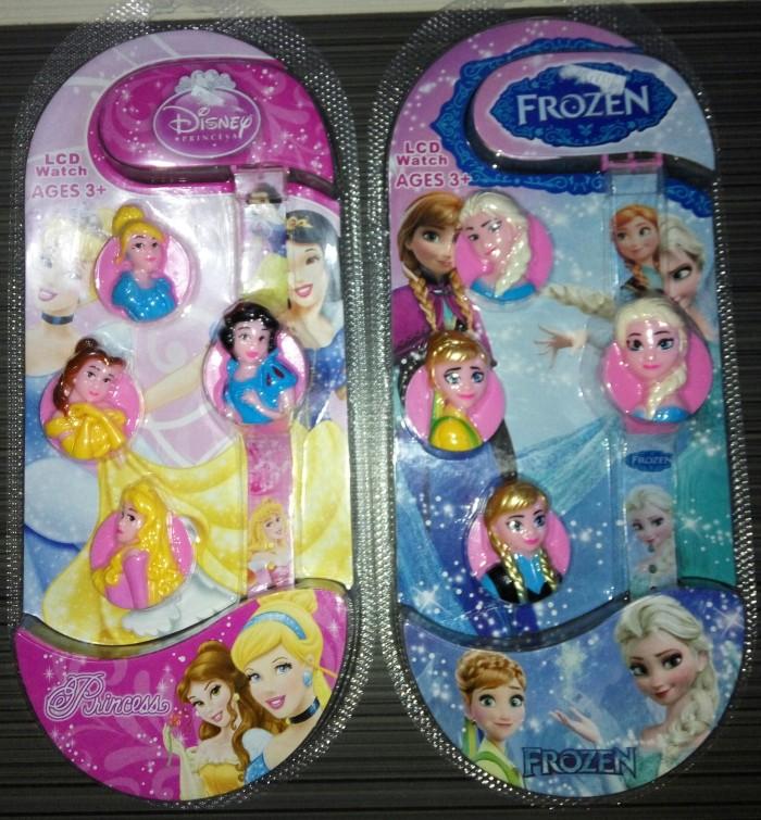 Mainan jam tangan anak princess frozen elsa