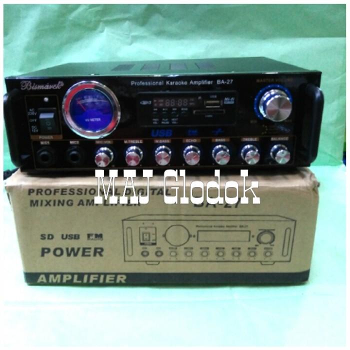 harga Amplifier mixer bismarck mini ba27 Tokopedia.com