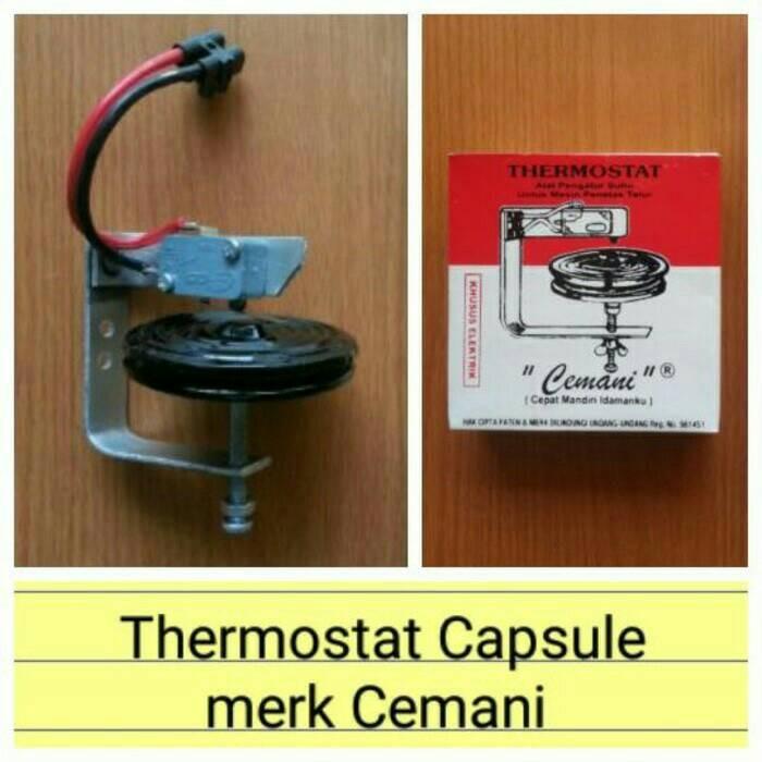 harga Thermostat kapsul mesin tetas termostat capsule penetas telur Tokopedia.com