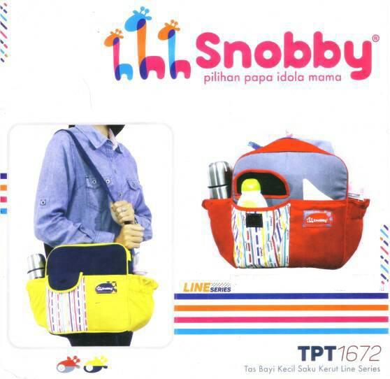 harga Snobby tpt1672 (kuning) tas bayi kecil saku kerut line series Tokopedia.com