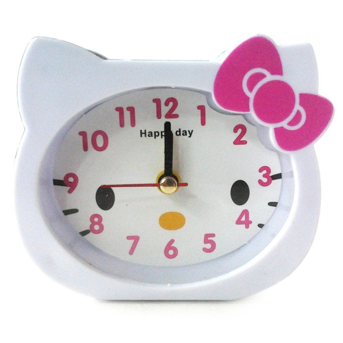 Jual Jam Weker Hello Kitty Kepala Alarm Clock Karakter Free Baterai ... 6b82ce2e32