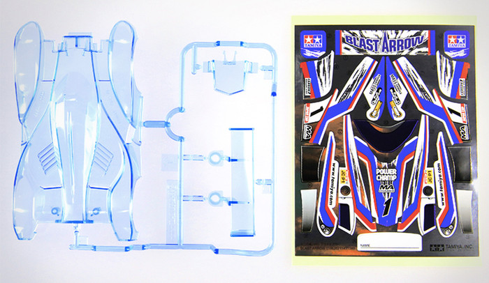 harga Tamiya body blast arrow clear blue Tokopedia.com