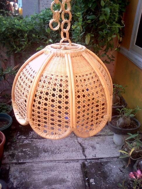 harga Lampion rotan lampu hias gantung Tokopedia.com