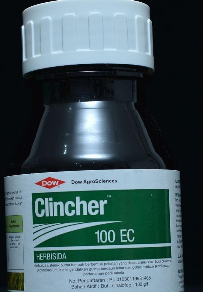 Foto Produk 200 ml Herbisida Clincher 100 EC Tanaman Padi Sistemik dari Berkah Kebun