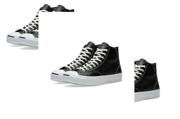 Jual Converse Jack Purcell Signature Hi Leather Black - YouthShoes ... fcdf31e838