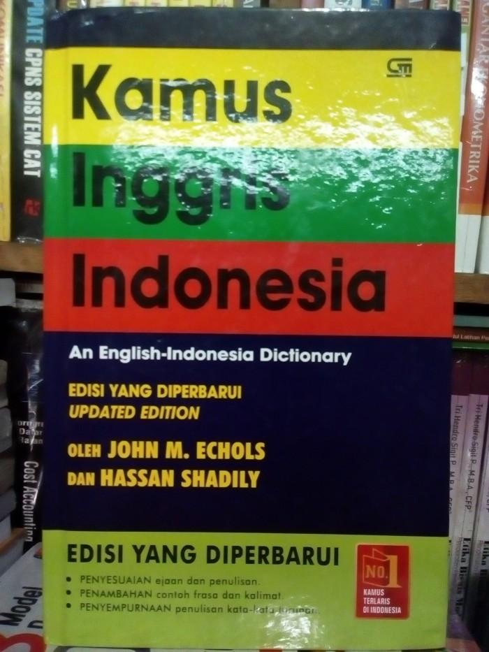 harga Kamus inggris indonesia by john m. echols Tokopedia.com