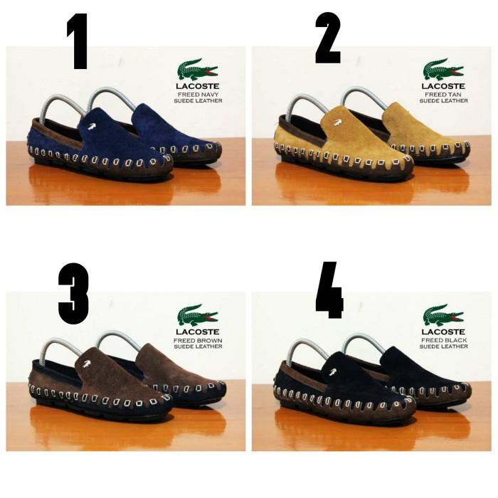 Jual Sepatu Casual Lacoste Slip On Slop Kulit Suede - Sepatu Murah ... d24119a9e5