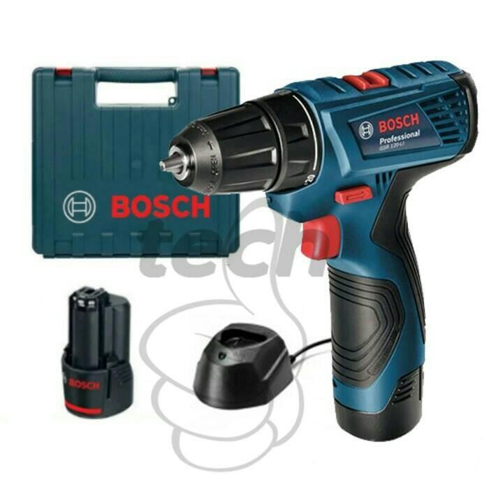harga Cordless bosch gsr 120-li/cordless impact drill driver Tokopedia.com