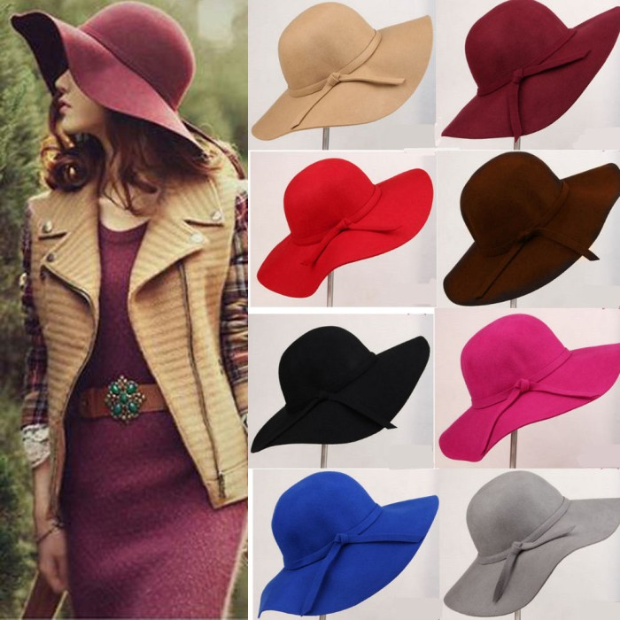 harga Topi pantai   topi lebar  topi wanita   topi floppy hat Tokopedia.com 7d10d0858f