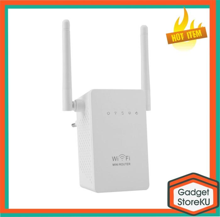 harga Penguat sinyal wifi/ wireless wifi range extender amplifier 300mbps Tokopedia.com