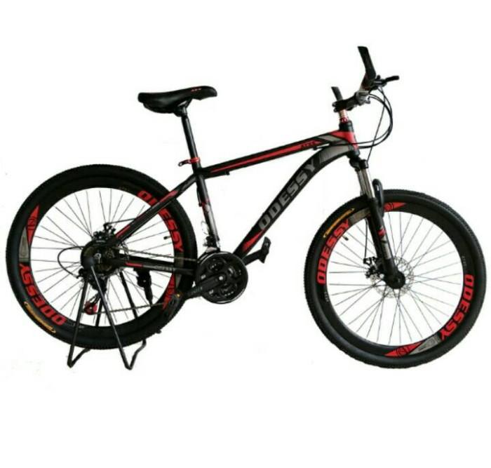 harga Odessy atxs 500 sepeda mtb 26  new sepeda gunung 21 speed Tokopedia.com