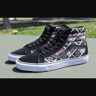 Jual Sepatu Vans Sk8 Hi Nitendo Game Over Premium  a1b61bd022