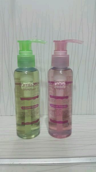 harga Lamoode crystal serum green & pink 125ml Tokopedia.com