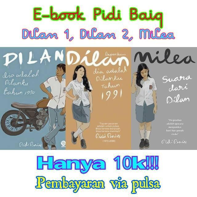 Ebook Buku Pidi Baiq