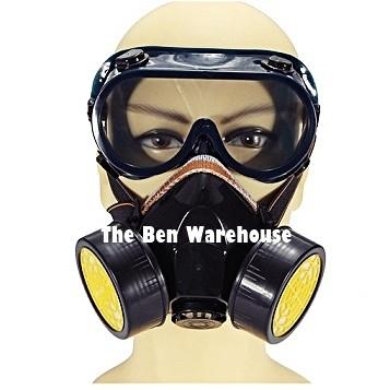 harga Masker dual respirator carbon actived standard industrial mask Tokopedia.com