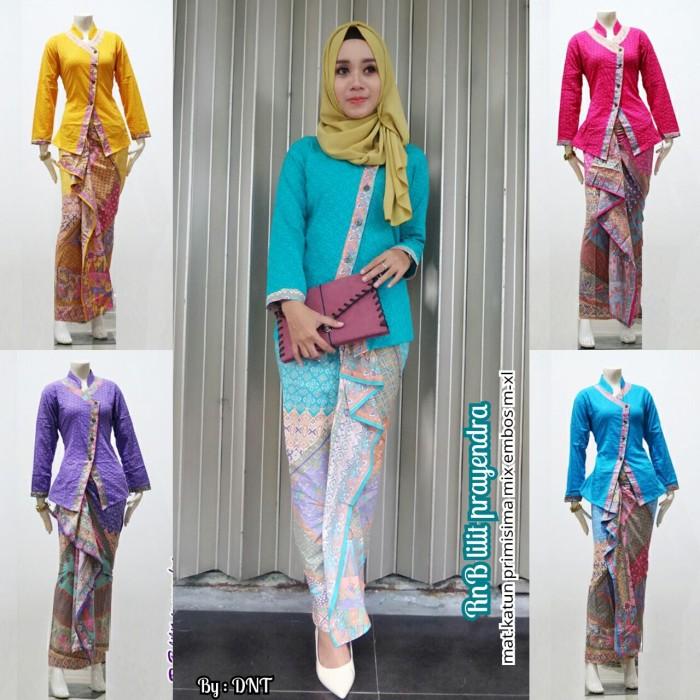 Jual Setelan Rok Dan Blouse Batik Modern Baju Batik Pesta Kota Surakarta Nur Laila Shop Tokopedia